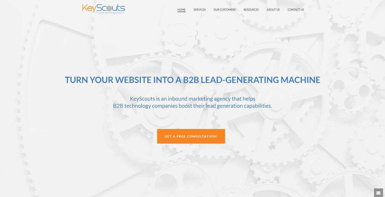 Keyscouts Homepage